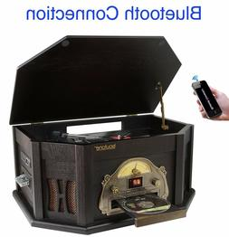 8-in-1 Boytone BT-25BK with Bluetooth Connection Natural woo
