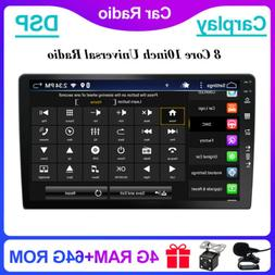 """10.1"""" AUX Android 10 Octa Core Car Radio Stereo WiFi GPS+Cam"""