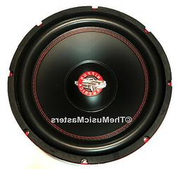 "12"" inch Home Stereo Sound Studio WOOFER Subwoofer Speaker B"