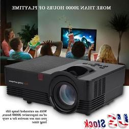 1920*1080P Stereo Home Theater HDMI/USB/VGA LED Screen Video