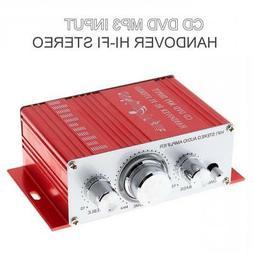 2-CH Mini Handover Hi-Fi Car Home Audio Stereo Amplifier CD