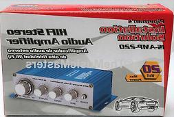 2 Channel Stereo 20 Watt Mini Car Home Amp Audio PA Power Am