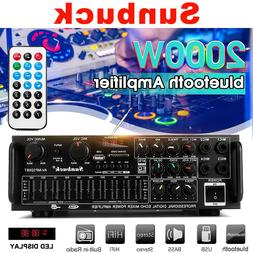 2000W 110V/220V 2channel bluetooth <font><b>Home</b></font>