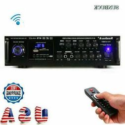 2000W 110V 2CH Digital Amplifier HIFI bluetooth AMP Stereo A
