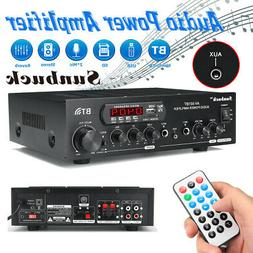 Sunbuck 2000W 110V12V bluetooth Power Amplifier 2Ch AMP Home