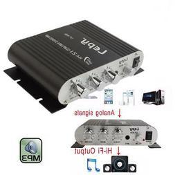 200W 12V Mini Hi-Fi Amplifier Radio MP3 Stereo for Car Motor