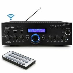PYLE 200W BLUETOOTH HOME STEREO AMPLIFIER RECEIVER AMFM RADI