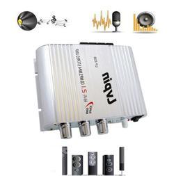 200W Mini Hi-Fi 2.1 Amplifier Booster Radio MP3 Stereo for C