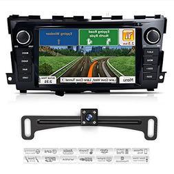 2013-2017 Nissan Altima Indash Car GPS Navigation with Backu