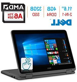 """2018 Dell Inspiron 3000 11.6"""" 2-in-1 Touchscreen Laptop/Ta"""