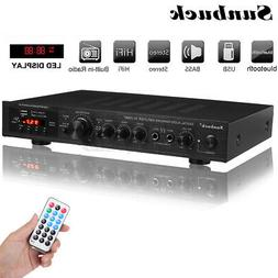 2200W bluetooth 5 Channel HiFi Stereo Power Amplifier Home A
