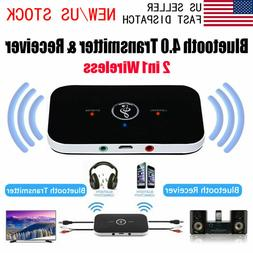 2in1 Bluetooth Audio Transmitter Receiver Aux Adapter for Ho