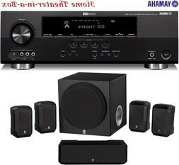 Yamaha 3D-Ready 500 Watt 5.1-Channel Home Theater Receiver W