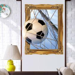3D stereo removable waterproof Wall Stickers Art Home Desk L