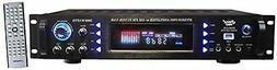 4-Channel Home Audio Power Amplifier - 3000 Watt Stereo Rece