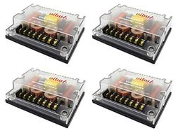 4 Pc 3 way Crossover CRX-303 300 Watts Passive Crossover Car