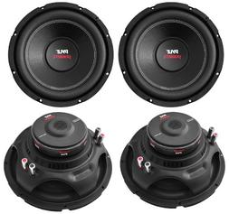 "4) PYLE PLPW12D 12"" 6400W 4 Ohm Black DVC Car Stereo Power A"