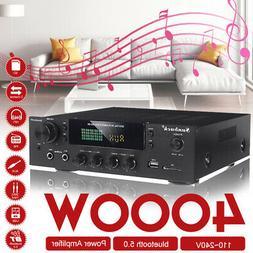 4000w hifi bluetooth 5 0 power amplifier