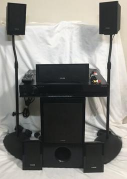 SONY 5.1 HOME THEATER STEREO SURROUND SYSTEM & DVD PLAYER