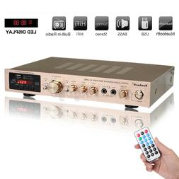 5 Channel 2500W bluetooth 5.0 Home Stereo Power Amplifier Re