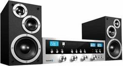 Innovative Technology 50 Watt Classic CD Stereo with Bluetoo