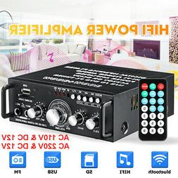 5000W HiFi bluetooth 5.0 Car Home Power Amplifier Stereo AUX