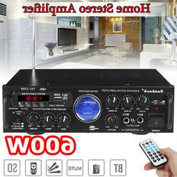 600W bluetooth Power Stereo Amplifier Mini Car Home Receiver
