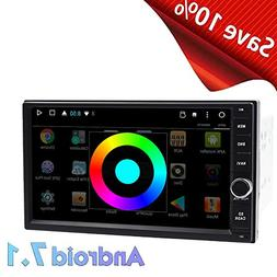 7'' Capacitive Screen Car Stereo 16GB ROM Android 7.1 Head U