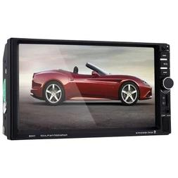 "IDS Home 7060B 7"" Car Audio Stereo MP5 Player Black with Rem"