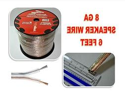8 GA GAUGE SPEAKER WIRE SUB WOOFER STRANDED COPPER MIX POWER