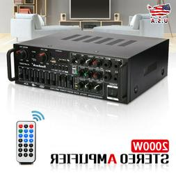 800w 110v 2ch with bluetooth home stereo