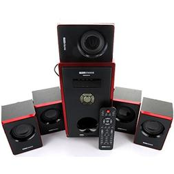 Acoustic Audio AA5103 800W 5.1 Channel Home Theater Speaker