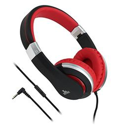 Artix CL700 On-Ear Foldable Adjustable Tangle-Free Wired Hea