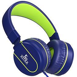 Artix Foldable On-Ear Adjustable Tangle-Free Wired Headphone