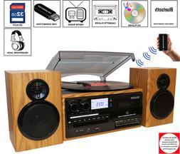 Boytone BT-28SPW, Bluetooth Classic Style Record Player Turn