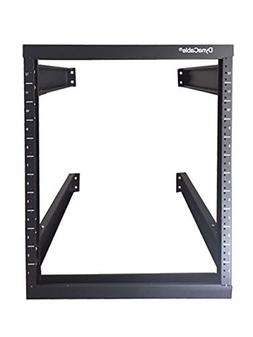 DynaCable 12U Heavy Duty Open Frame Mount Fixed Rack for Cab