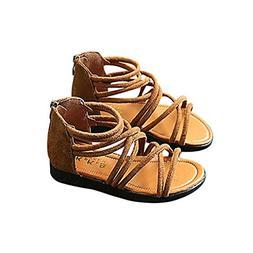 Hemlock Girl Sandals, Infant Kids Girls Flat Shoes Slip On S