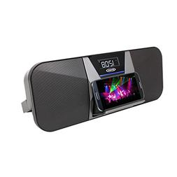 JENSEN JBD-400 Portable Bluetooth Speaker and FM Receiver wi