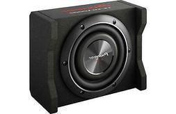 "Pioneer - 8"" Single-voice-coil 4-ohm Subwoofer - Black"