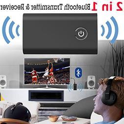 Purpplex 2in1 Bluetooth Transmitter & Receiver Wireless A2DP
