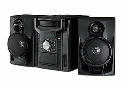 Sharp - 240W 5-Disc Mini Shelf System with cassette and Blue