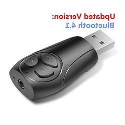 USB Bluetooth 4.1 Receiver Adapter for Car Audio Stereo/Spea
