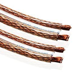Van Damme 2 x 6.0mm Audio Twin Interconnect Speaker Cable  2