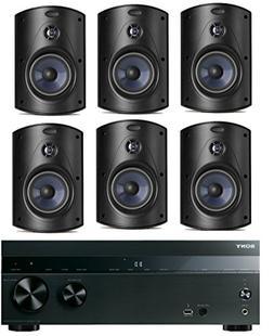 Sony 5.2-Channel 725-Watt 4K A/V Home Theater Receiver + Pol