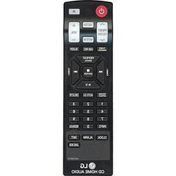 LG AKB73655751 Book-Shelf Stereo System Remote Control for C