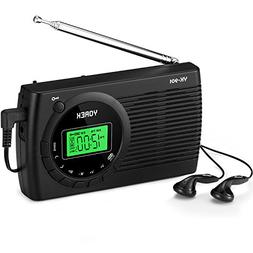 AM/FM/SW Radio, Yorek Portable Digital Alarm Clock Radio wit