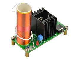 Aoshike DC 15-24v 15W Mini Music Tesla Coil Plasma Speaker d
