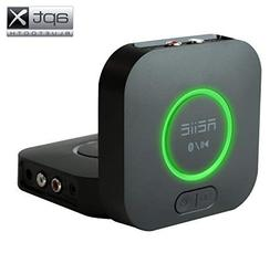REiiE Audio Bluetooth Adapter Receiver with 3D Surround AptX