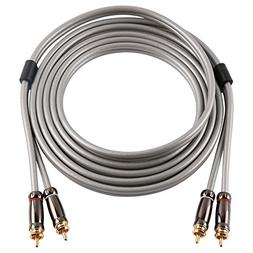 SKW Audiophiles Digital Stereo Audio Cable Coaxial Cable 2RC