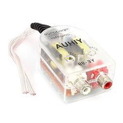 Uxcell a14101300ux0358 Auto Line Out 2 RCA Input High to Low